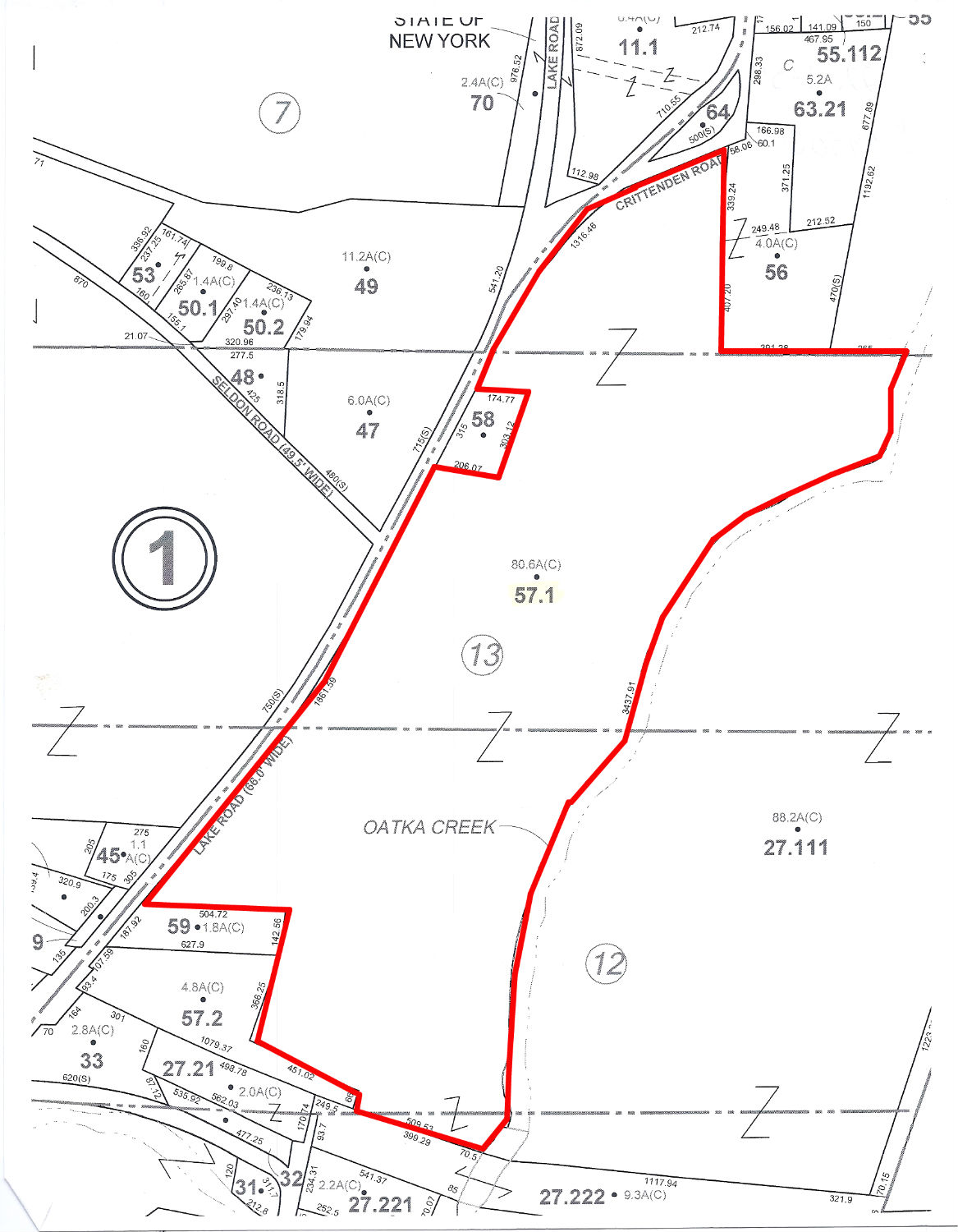 SALE PENDING! Offering 80+ acres of exceptional real estate in Le Roy, New York!Call our office for more information!!